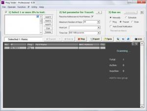 Enlarge PingTester Screenshot