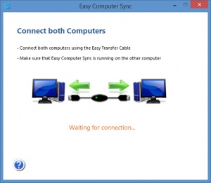 Enlarge Easy Computer Sync Screenshot