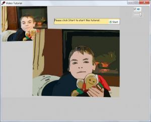 Enlarge Photo to Cartoon Screenshot
