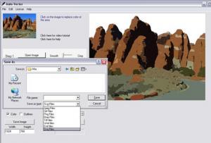 Enlarge Auto Vector Screenshot