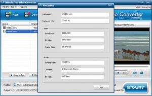 Enlarge iWisoft Free Video Converter Screenshot