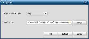 Enlarge iWisoft Free Video Converter Screenshot