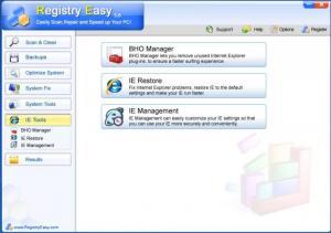 Enlarge Registry Easy Lite Screenshot