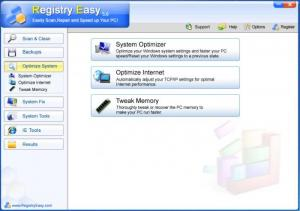Enlarge Registry Easy Lite Screenshot