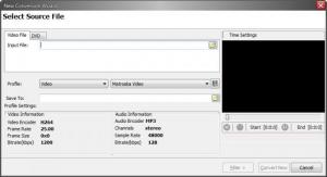 Enlarge BlackShark Video Converter Screenshot
