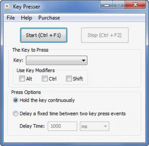 Enlarge Key Presser Screenshot