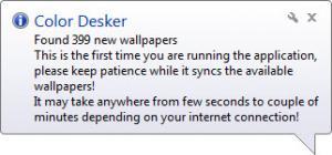 Enlarge Color Desker Screenshot