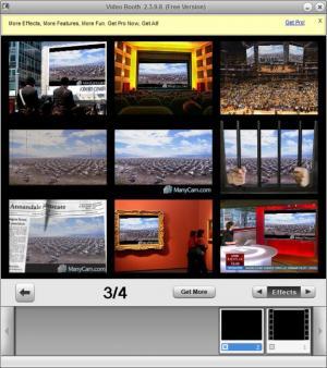 Enlarge Video Booth Screenshot