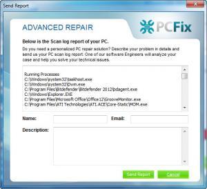 Enlarge PC Fix Cleaner Screenshot