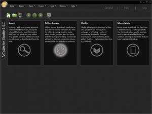 Enlarge NCollector Studio Screenshot