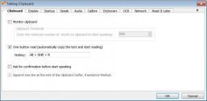 Enlarge Talking Clipboard Screenshot