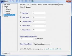Enlarge Quick Cliq Screenshot