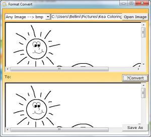 Enlarge Calf Image to Text Converter Screenshot