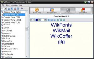 Enlarge WikFonts Screenshot