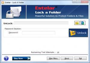 Enlarge Estelar Lock A Folder Screenshot