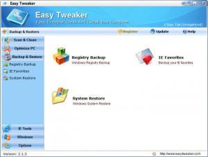 Enlarge Easy Tweaker Screenshot