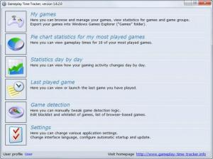 Enlarge Gameplay Time Tracker Screenshot