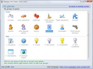 Enlarge Gameplay Time Tracker Screenshot