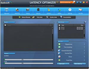 Enlarge Latency Optimizer Screenshot