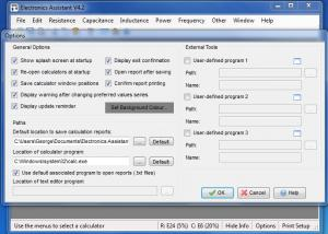 Enlarge Electronics Assistant Screenshot