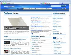 Enlarge JD Web Surfer Screenshot