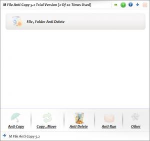 Enlarge M File Anti-Copy Screenshot