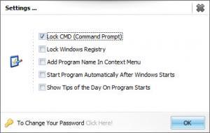 Enlarge M Secure Lock Screenshot
