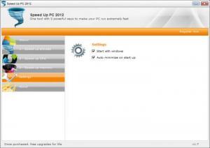 Enlarge Speed Up PC 2012 Screenshot