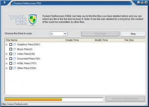 Enlarge Toolwiz File Recovery Screenshot