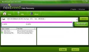 Enlarge NextBreed Data Recovery Screenshot