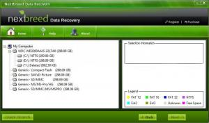 Enlarge NextBreed Data Recovery Screenshot