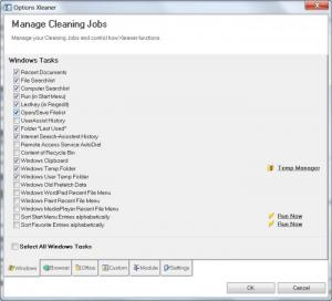 Enlarge Xleaner Screenshot