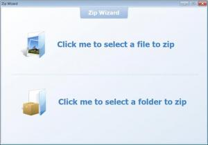 Enlarge WeZip Easy Screenshot