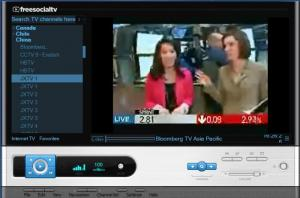 Enlarge FreeSocial TV Screenshot