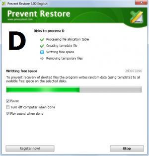 Enlarge Prevent Restore Screenshot