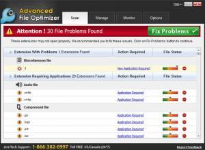 Enlarge Advanced File Optimizer Screenshot