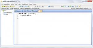 Enlarge SQLite Expert Personal Screenshot