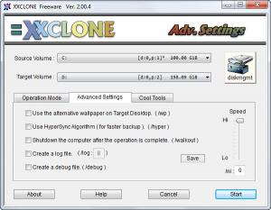 Enlarge XXClone Free Screenshot