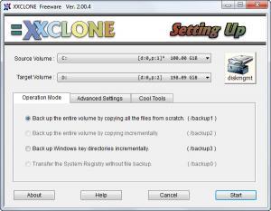 Enlarge XXClone Free Screenshot
