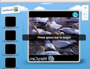 Enlarge Sparkbooth Screenshot