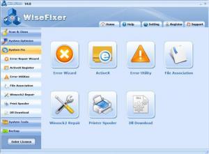 Enlarge WiseFixer Screenshot