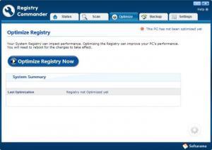 Enlarge Registry Commander Screenshot