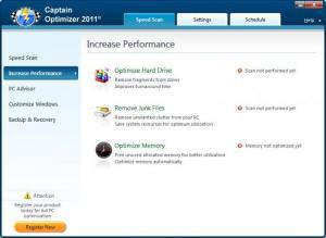 Enlarge Captain Optimizer Screenshot
