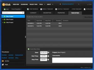 Enlarge Klok Screenshot