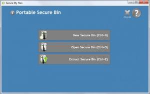 Enlarge Secure My Files Screenshot
