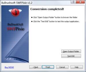 Enlarge Bullrushsoft SWFPixie Screenshot
