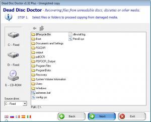 Enlarge Dead Disc Doctor Screenshot