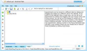 Enlarge Bookmark Flash Screenshot