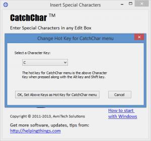 Enlarge CatchChar Screenshot