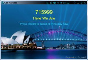 Enlarge Cali Karaoke Screenshot